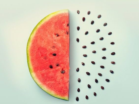 one half of a watermelon and the other half are seeds. caribu mommy mom mother's blog that gives parenting advice for kids, children, toddlers, preschoolers.